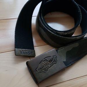 Vans - Camo belt